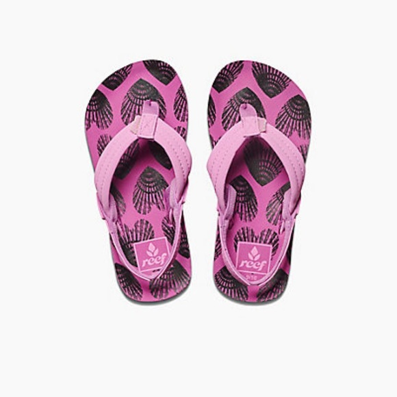 Reef | Little Ahi heart shells sandals